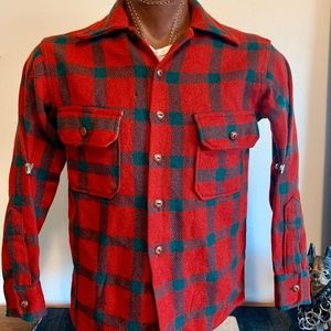 1960's Wool Flannel Shirt